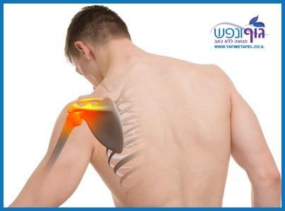 טיפול בהגבלות תנועה וכאבים בכתף קפואה